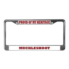 Proud of My Muckleshoot Heritage Lic. Plate Frame
