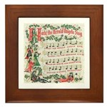 Hark! The Herald Angels Sing Framed Tile