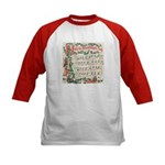 Hark! The Herald Angels Sing Kids Baseball Jersey