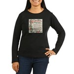 Hark! The Herald Angels Sing Women's Long Sleeve D