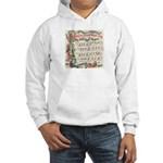 Hark! The Herald Angels Sing Hooded Sweatshirt