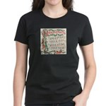 Hark! The Herald Angels Sing Women's Dark T-Shirt