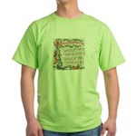 Hark! The Herald Angels Sing Green T-Shirt