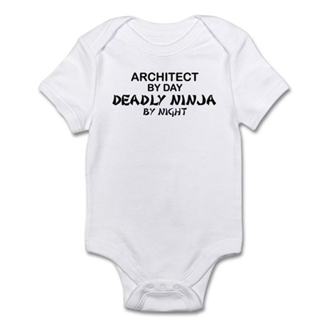 Architect Deadly Ninja Infant Bodysuit