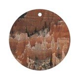 Helaine's Bryce Canyon Ornament (Round)