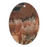 Helaine's Bryce Canyon Ornament (Oval)