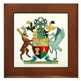 Queensland Coat of Arms Framed Tile