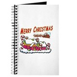 Santa and Candy Cane House Journal
