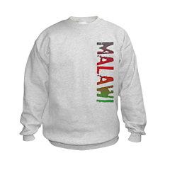 Malawi Stamp Kids Sweatshirt