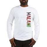 Malawi Stamp Long Sleeve T-Shirt