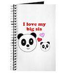 I LOVE MY BIG SIS Journal