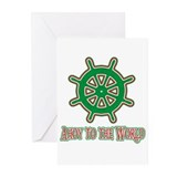 Ahoy To The World Greeting Cards (Pk of 10)