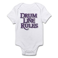 Drum Line Rules Infant Bodysuit