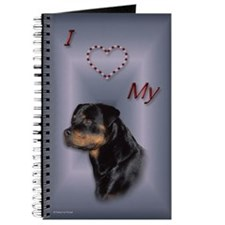 Rottweiler Head Journal