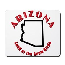Arizona Snow Birds Mousepad