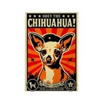 Chihuahua Revolutionary Magnets (10 pack)