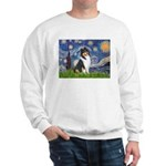 Starry Night / Collie (tri) Sweatshirt
