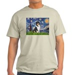 Starry Night / Collie (tri) Light T-Shirt