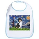 Starry Night / Collie (tri) Bib