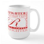 Firefighters   Rob's Large Mug