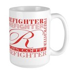 Firefighters   Rich's Large Mug