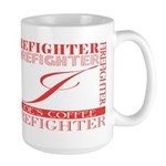 Firefighters   Joe's Large Mug