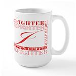 Firefighters   Jeremy's Large Mug