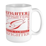 Firefighters   Greg's Large Mug