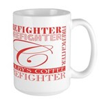 Firefighters   Colby's Large Mug