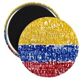 "Textual Colombia 2.25"" Magnet (100 pack)"