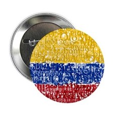 "Textual Colombia 2.25"" Button (100 pack)"