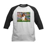 Lilies (2)/Collie (1S) Kids Baseball Jersey