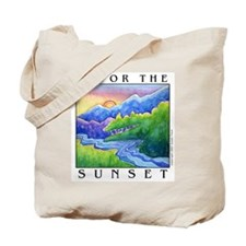 Sunset Tote / Grocery or Book Bag