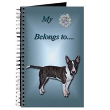 Mini Bull Terrier Journal