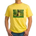 Bridge / Collie (tri) Yellow T-Shirt