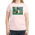 Bridge / Collie (tri) Women's Light T-Shirt