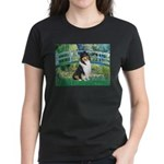 Bridge / Collie (tri) Women's Dark T-Shirt