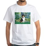 Bridge / Collie (tri) White T-Shirt
