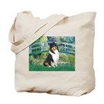 Bridge / Collie (tri) Tote Bag