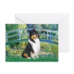 Bridge / Collie (tri) Greeting Cards (Pk of 20)