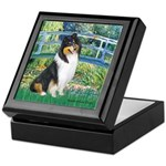 Bridge / Collie (tri) Keepsake Box