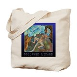 Collared Lizard Tote/ Grocery or Book Bag