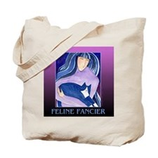 Feline Fancier Tote/ Grocery or Book Bag