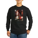 Accolade / Collie (s&w) Long Sleeve Dark T-Shirt