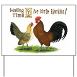 Dutch Bantam Time! Yard Sign