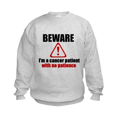 Cancer Patient Kids Sweatshirt