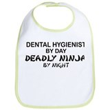 Dental Hygienist Deadly Ninja Bib