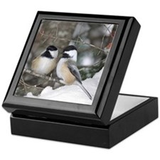 2 Chickadees Keepsake Box