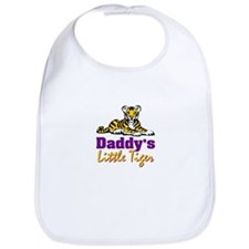 Daddy's Little Tiger Bib