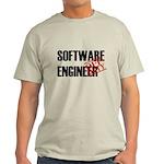 Off Duty Software Engineer Light T-Shirt